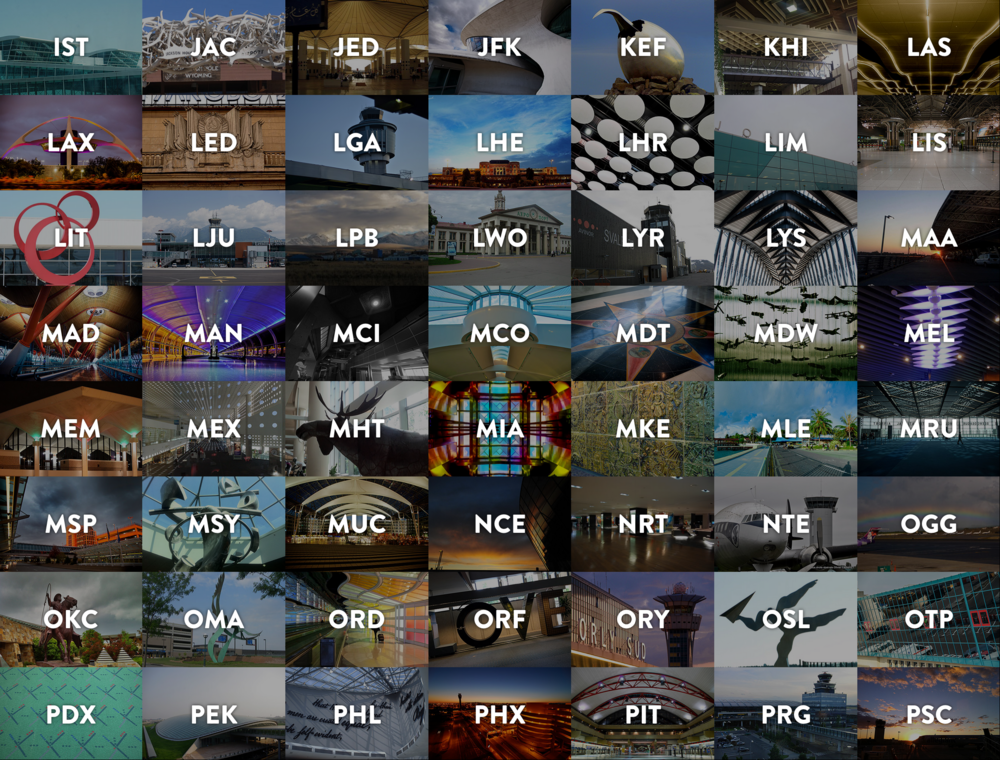 Airline Codes Worldwide