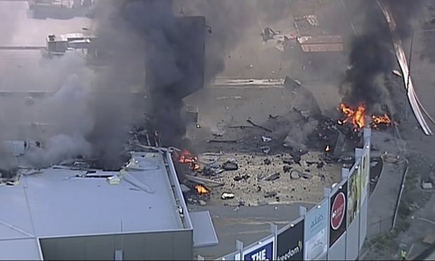 Plane Crashes in Australia