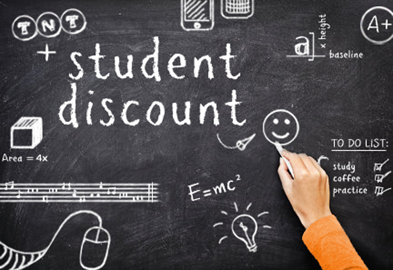 students discounts