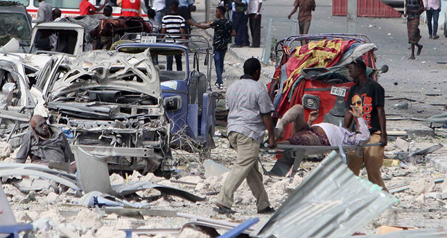 Car Bomb Blast Killed 8 in Mogadishu Hotel Somalia