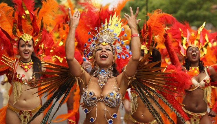 Carnival in Rio Brazil