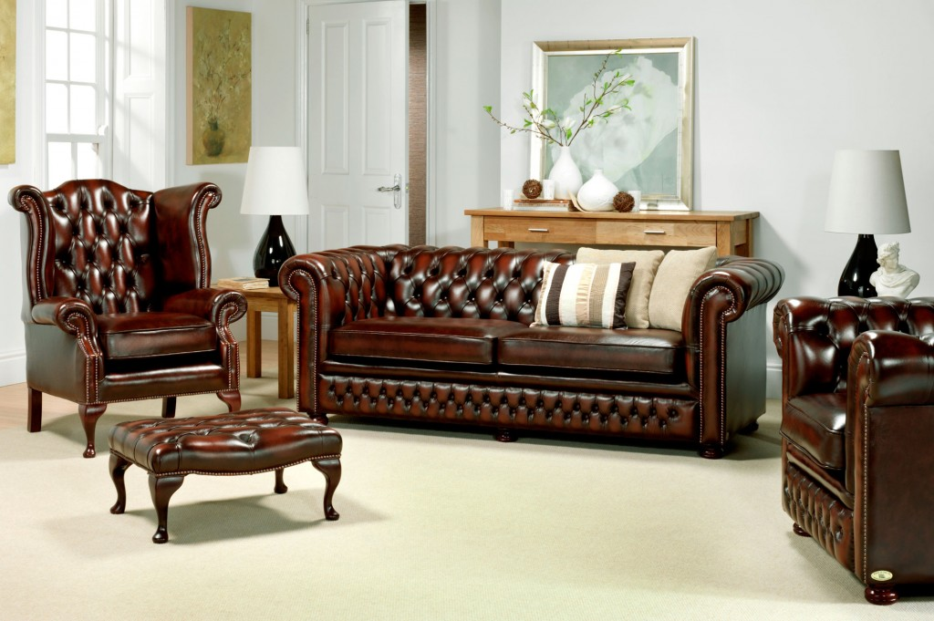 Chesterfield Sofas and Tables