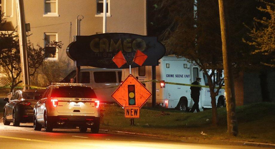 Nightclub Shooting in Cincinnati Ohio-1 dead and 14 Injured