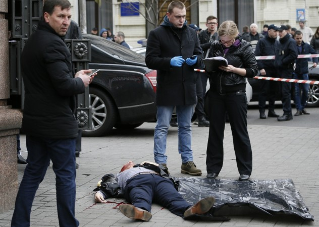 Russian Politician Denis Voronenkov Shot Dead in Kiev Ukraine