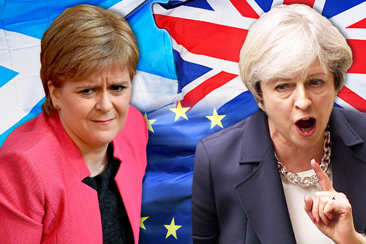 Scottish Parliament Calls for Second Referendum- Brexit UK Independence