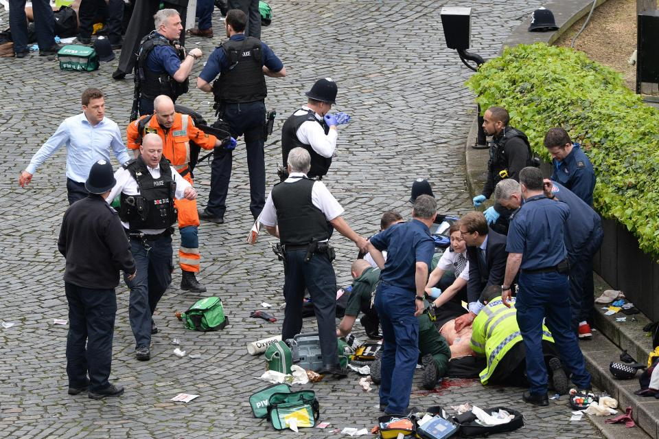 Terror in the Heart of London-Bodies Everywhere