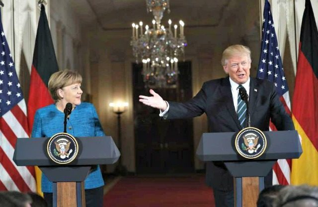 Trump to Merkel-We were Both Tapped by Obama