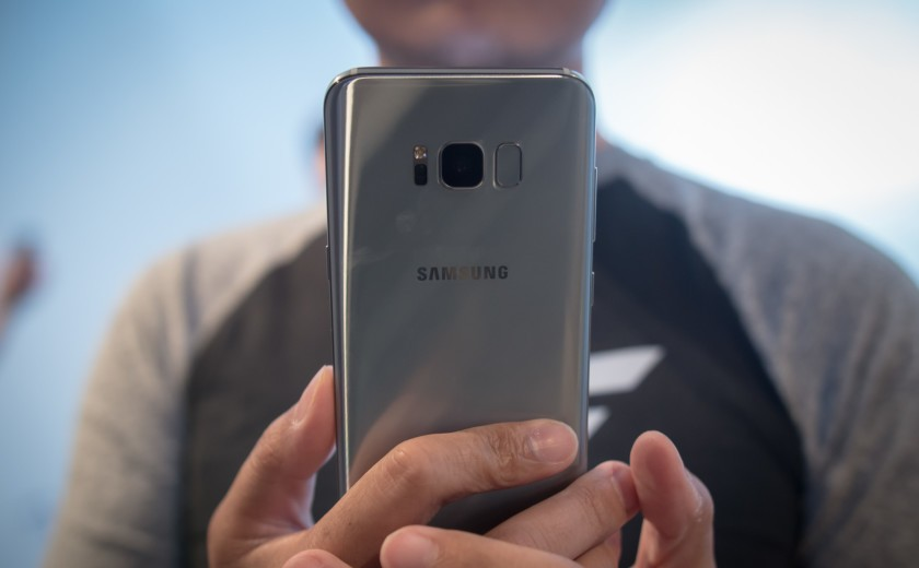 Face Recognition of Galaxy S8