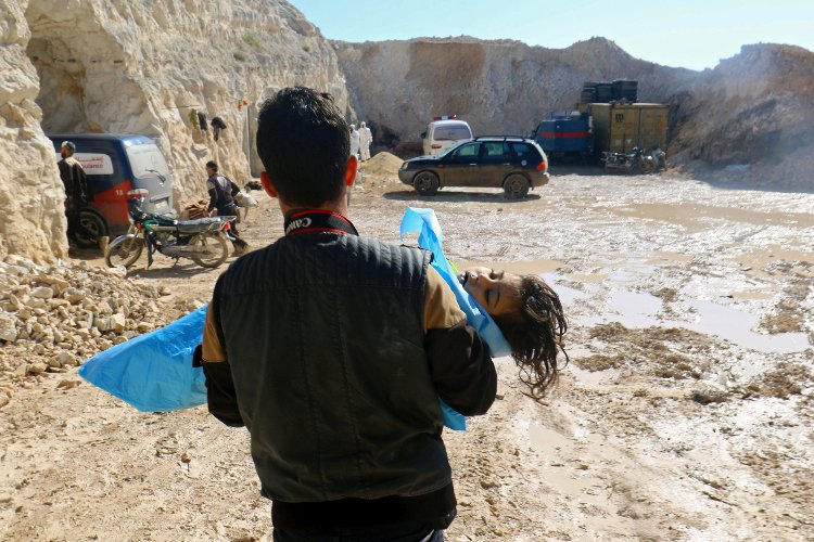 Russia is Lying about Chemical Weapons Attack in Syria