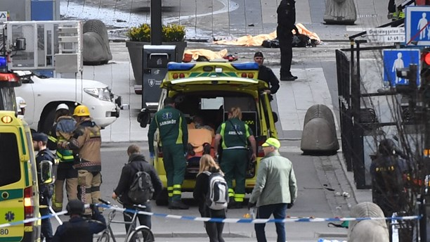 Stockholm Terror Attack killed Four People-Police Arrest Suspect