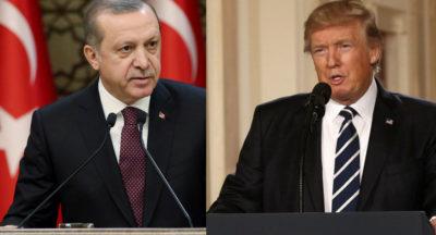 Trump Congratulates Erdogan Referendum Victory