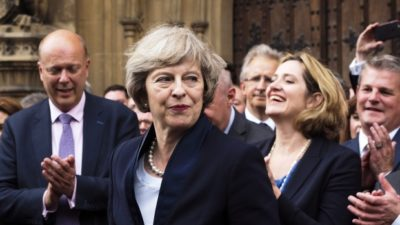 British Prime Minister May is Replacing Ministers
