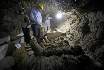 17 Mummies Discovered in Ancient Tomb Egypt