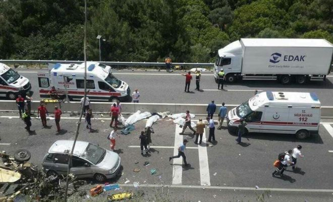 23 Tourists get Killed by Bus Accident in Turkey