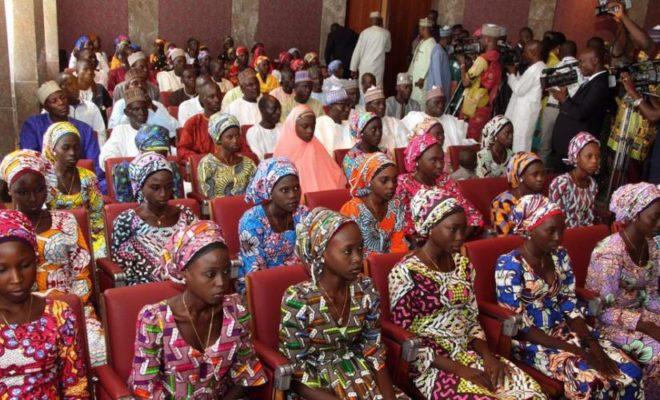 82 School Girls Released by Jihadists Boko Haram in Nigeria