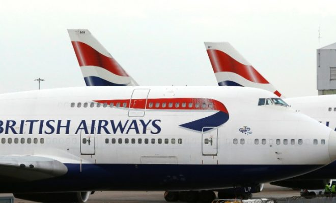 British Airways Part of Airline Group IAG Fires 350 Pilots