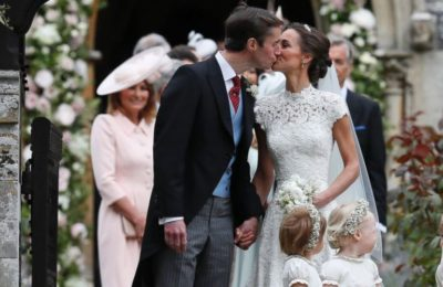 England Celebrates Royal Party-Pippa Middleton is married