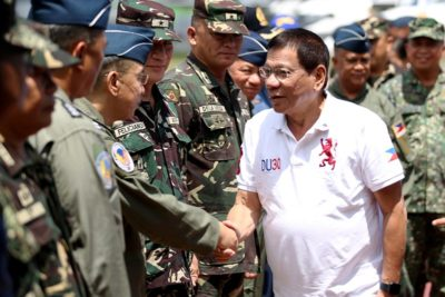 Philippines President Jokes about Rape in Speech for Soldiers
