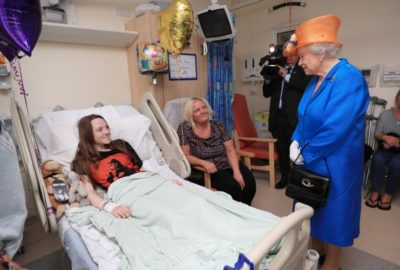 Queen Elizabeth Visits Victims of Manchester Suicide Attack