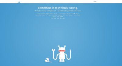 Twitter Social Media App and Website is Down