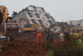 China Landslide-More than 100 People Buried in Sichuan Province
