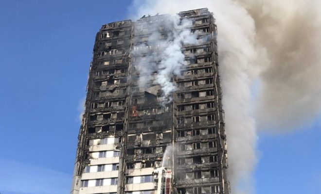 Fire in Residential Tower London 6 Dead Above 20 Critical