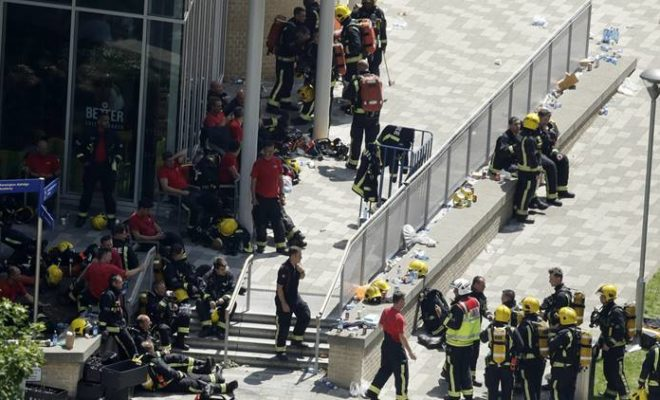 London Fire-It would be a Miracle to Find Survivors