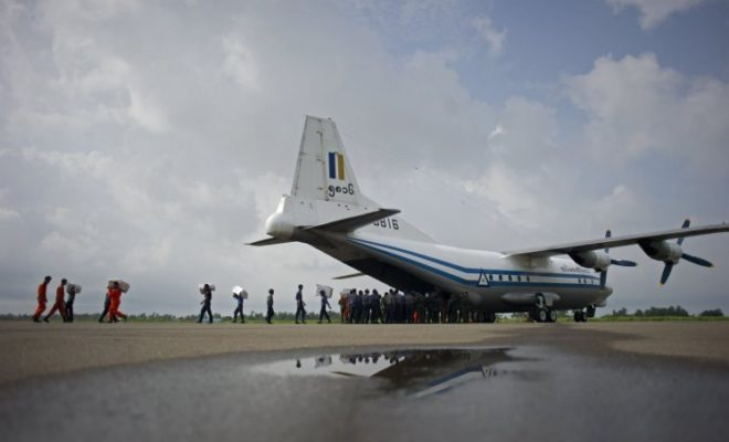 Myanmar Plane Missing with more than 100 People on Board