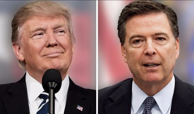 President Trump-I havent Taped Conversation with Comey