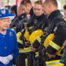 Queen Elizabeth Somber National Mood on Birthday