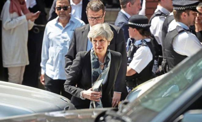Theresa May-Attack on Muslims at Mosque is Disgusting