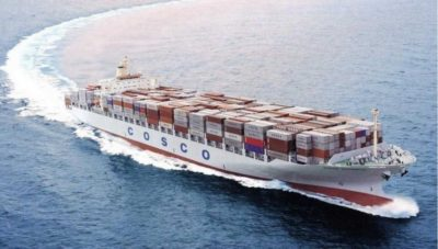 China Shipping Giant COSCO Offers $6.3 Billion for Orient Overseas Ltd