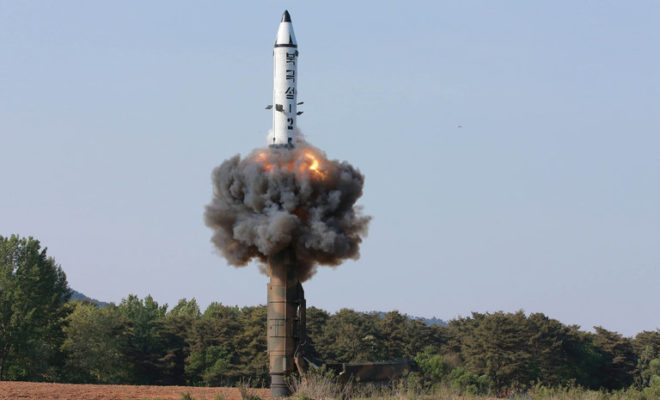 North Korea Fires Ballistic Missile Over Japan into the Pacific Ocean