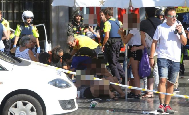 13 Killed and 50 Injured in Barcelona Terror Attack