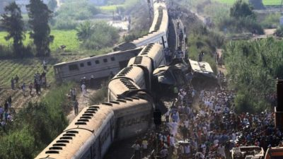 Drivers Arrested after Major Trains Accident in Egypt
