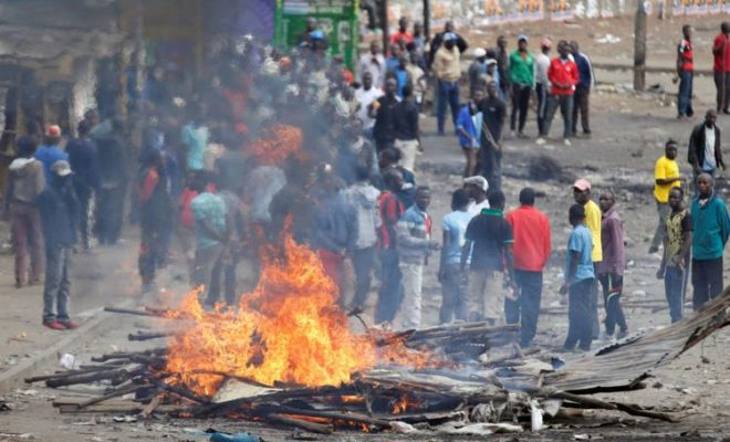 Nine Year Girl Shot Dead during Kenya Election Protest