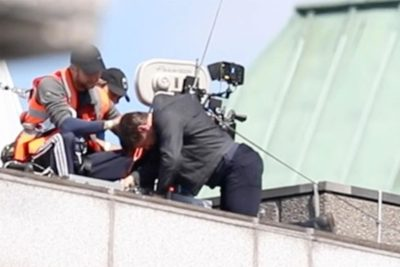 Tom Cruise Injured during Stunt for Mission Impossible 6