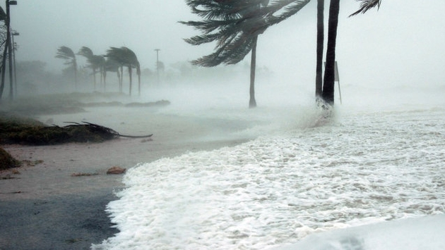 Hurricane Irma Hits the Caribbean