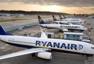 Ryanair Reduces the Number of Flights for the Winter Season