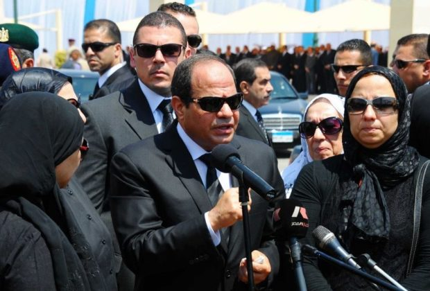 Egypt president Vows to Avenge Mosque Attack Victims