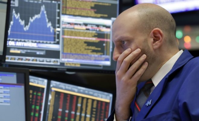 US Stocks Slips, Moderate Losses on Wall Street