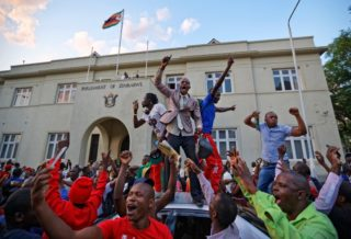 Mugabe's Resignation-Big Party in Zimbabwe