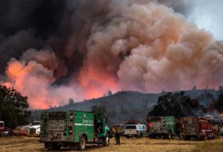 California Fire-Already 103,600 Hectare of Nature in the Ashes