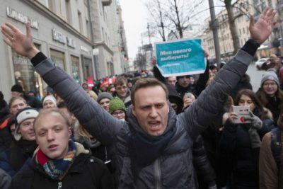 FSB Agents Followed Navalny Before He Fell Ill