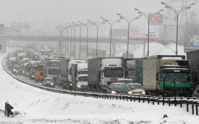 Heavy Snowfall in Moscow Causes Casualties, Flights Delayed