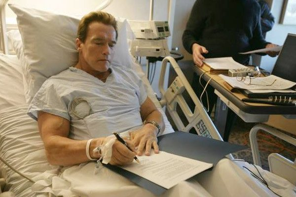 Arnold Schwarzenegger Stable after Heart Surgery-I am Back