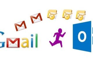 Transfer Gmail Contacts to Outlook