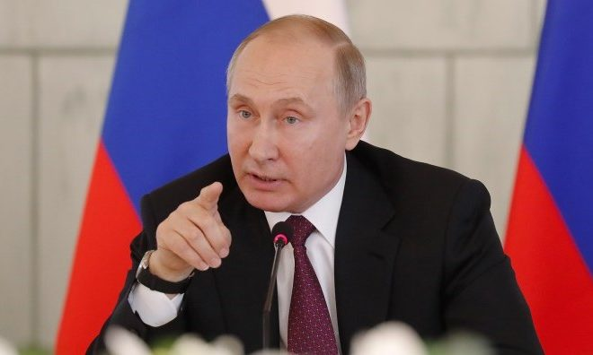 Vladimir Putin Strikes Back as Russia Expels More than 100 Western Diplomats