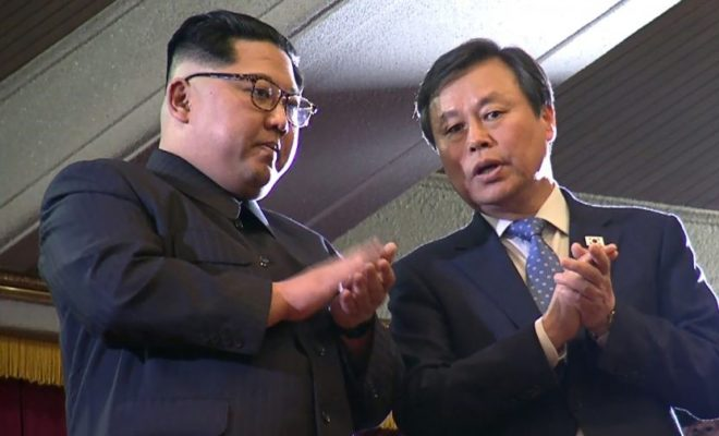 North and South Korea Leaders Face Each Other for First Time in 10 years