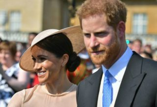 Harry and Meghan for the First Time as a Married Couple Outside
